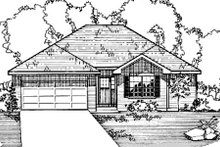 House Design - Ranch Exterior - Front Elevation Plan #31-110