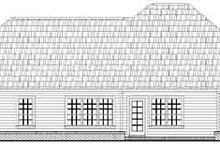 Dream House Plan - European Exterior - Rear Elevation Plan #21-171