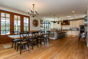 Country Style House Plan - 5 Beds 4.5 Baths 4724 Sq/Ft Plan #70-1488 Interior - Dining Room