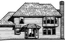 Traditional Exterior - Rear Elevation Plan #20-617