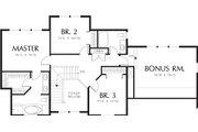 Farmhouse Style House Plan - 3 Beds 2.5 Baths 2208 Sq/Ft Plan #48-134 Floor Plan - Upper Floor