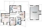 Farmhouse Style House Plan - 4 Beds 3.5 Baths 3532 Sq/Ft Plan #23-2687 Floor Plan - Upper Floor Plan