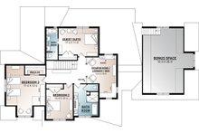Farmhouse Floor Plan - Upper Floor Plan Plan #23-2687