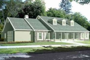 Traditional Exterior - Front Elevation Plan #1-1437