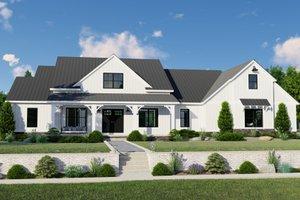 Farmhouse Exterior - Front Elevation Plan #1064-122