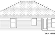 Craftsman Exterior - Rear Elevation Plan #84-582
