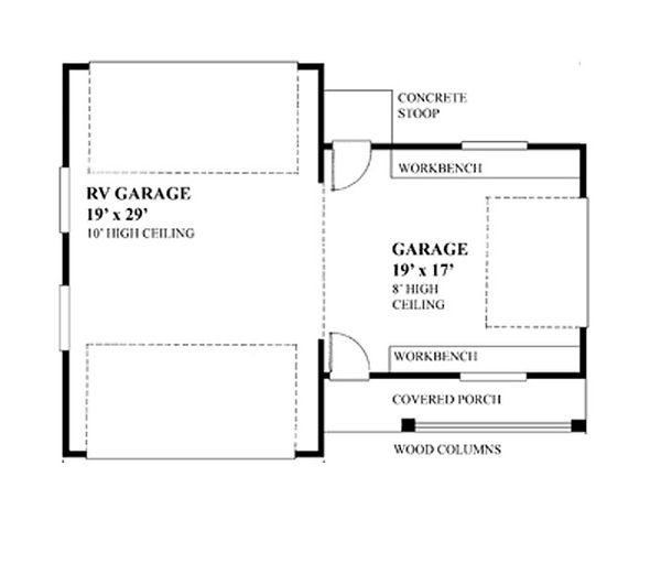 Floor Plan - Main Floor Plan Plan #118-123