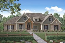 Home Plan - Craftsman Exterior - Front Elevation Plan #430-155