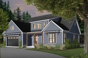 Farmhouse Style House Plan - 4 Beds 3.5 Baths 3354 Sq/Ft Plan #23-2690 Exterior - Front Elevation