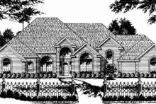 Traditional Exterior - Other Elevation Plan #40-197