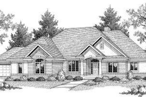 Traditional Exterior - Front Elevation Plan #70-583