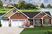 Ranch Style House Plan - 3 Beds 2 Baths 1664 Sq/Ft Plan #70-1047
