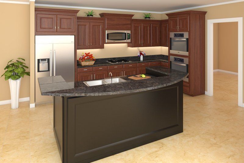 Farmhouse Interior - Kitchen Plan #21-313 - Houseplans.com
