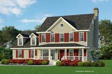 Dream House Plan - Farmhouse Exterior - Front Elevation Plan #929-241