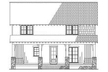 Country Exterior - Rear Elevation Plan #923-90