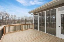 Dream House Plan - Ranch Exterior - Outdoor Living Plan #70-1497