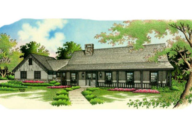 Home Plan - Farmhouse Exterior - Front Elevation Plan #45-122