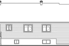 Country Exterior - Rear Elevation Plan #23-2721