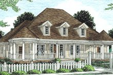 Home Plan - Country Exterior - Front Elevation Plan #20-289