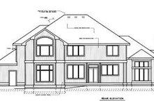 Home Plan - European Exterior - Rear Elevation Plan #96-209