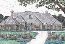 Dream House Plan - European Exterior - Front Elevation Plan #310-635