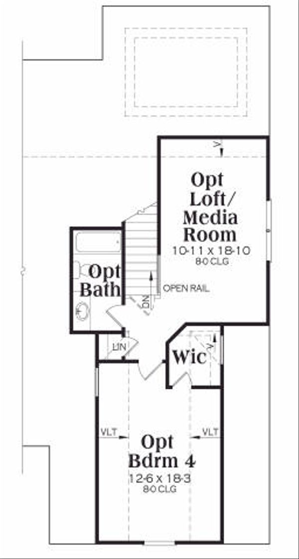 Ranch Floor Plan - Other Floor Plan Plan #419-148
