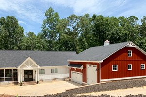 Craftsman Exterior - Front Elevation Plan #437-112
