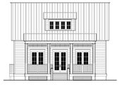 Beach Style House Plan - 3 Beds 4 Baths 2085 Sq/Ft Plan #443-5 Exterior - Other Elevation