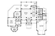 Beach Style House Plan - 5 Beds 6.5 Baths 5797 Sq/Ft Plan #938-102 Floor Plan - Main Floor