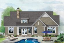 Country Exterior - Front Elevation Plan #929-1068