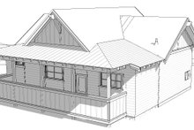 Home Plan - Ranch Exterior - Other Elevation Plan #895-128