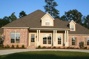 Traditional Style House Plan - 4 Beds 3.5 Baths 2682 Sq/Ft Plan #45-152 Exterior - Front Elevation