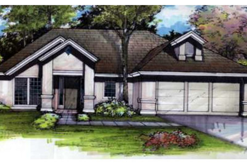 Traditional Exterior - Front Elevation Plan #320-374