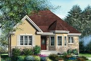 European Style House Plan - 2 Beds 1 Baths 1162 Sq/Ft Plan #25-4122 Exterior - Front Elevation