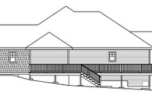 Home Plan - Traditional Exterior - Other Elevation Plan #124-620