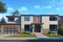 House Design - Contemporary Exterior - Front Elevation Plan #1066-128