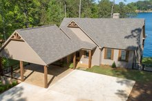 Dream House Plan - Traditional Exterior - Front Elevation Plan #63-412