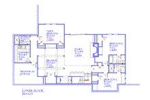 Farmhouse Floor Plan - Lower Floor Plan Plan #901-145