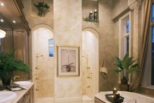 House Plan Design - Mediterranean Interior - Master Bathroom Plan #930-15