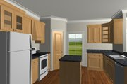 Country Style House Plan - 2 Beds 1 Baths 992 Sq/Ft Plan #44-191 Interior - Other