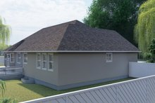 Dream House Plan - Traditional Exterior - Other Elevation Plan #1060-100