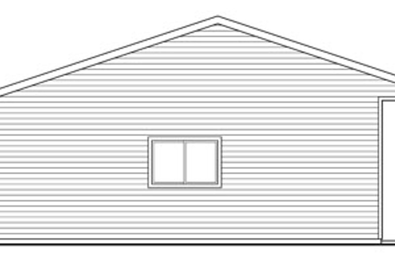 Traditional Exterior - Other Elevation Plan #124-792 - Houseplans.com