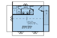 Farmhouse Floor Plan - Upper Floor Plan Plan #923-170