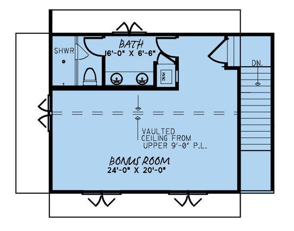 Dream House Plan - Farmhouse Floor Plan - Upper Floor Plan #923-170