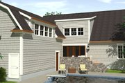 Country Style House Plan - 3 Beds 3.5 Baths 2996 Sq/Ft Plan #1071-10 Exterior - Front Elevation