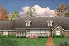 House Design - Country Exterior - Front Elevation Plan #84-149