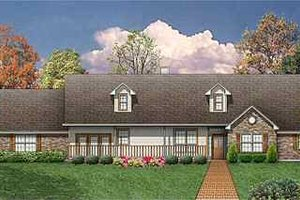 Home Plan - Country Exterior - Front Elevation Plan #84-149