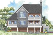 Traditional Style House Plan - 3 Beds 2 Baths 1853 Sq/Ft Plan #930-157 Exterior - Rear Elevation