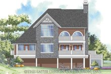 House Design - Traditional Exterior - Rear Elevation Plan #930-157