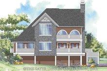 House Plan Design - Traditional Exterior - Rear Elevation Plan #930-157